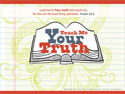 Teach Me Your Truth PowerPoint Template (Downloadable)