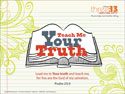 Teach Me Your Truth Wallpaper 1024 x 768 (Downloadable)