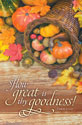 Standard Thanksgiving Bulletin: How great is thy Ps 31:19