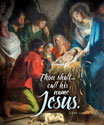 Premium Christmas Bulletin: His Name Shall Be Called Jesus - Luke 1:32