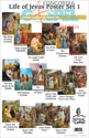 Life of Jesus Poster Set 1 – Donation