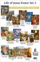 Life of Jesus Poster Set 2 – Jesus Teaches and Does Many Miracles