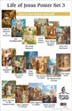 Life of Jesus Poster Set 3 – Jesus is Our Savior and Lord