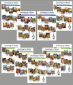 Bible Story Poster Sets 1-9: Old & New Testament