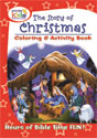 The Story of Christmas Coloring and Activity Book