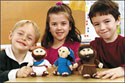 Bible Plush Pals Set (Pack of 3)