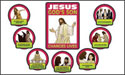 Jesus Changes Lives Bulletin Board