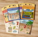 Bible Play Scenes - Complete Set of 4