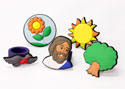God Cares for the Birds and Flowers Finger Puppet Set
