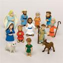 Plastic Bible Character Figures