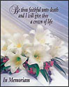 Memorial Cards - Crown of Life (Pkg of 12)