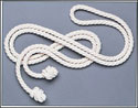 White Rope Benedictine Cincture