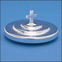 Silvertone Aluminum Bread Plate Cover