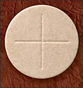 "Wheat Celebrant Communion Wafers 2-3/4"" (Pack of 50)"