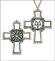 "Luther Rose 3"" Pectoral Community Cross"