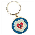 Luther Rose Key Ring