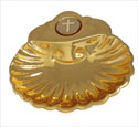 Baptismal Shell with Cross