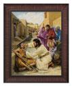 Jesus Heals the Blind Man (Bladholm)
