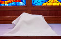 "100% Polyester Communion Veil - 30"" x 30"""