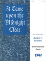 It Came upon the Midnight Clear (Instrumental Parts)