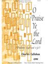 O Praise Ye the Lord (Full Score)