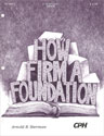 How Firm a Foundation (Sherman)
