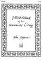 Festival Setting of the Communion Liturgy (Ferguson) - LSB Setting 2