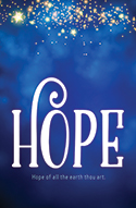 Standard Advent Bulletin: Hope (Pack of 50)