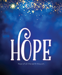 Premium Advent Bulletin: Hope (Pack of 50)