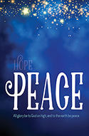 Standard Advent Bulletin: Peace (Pack of 50)