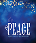 Premium Advent Bulletin: Peace (Pack of 50)