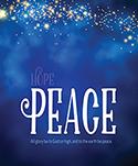 Premium Advent Bulletin: Peace (Pack of 50)
