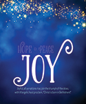 Premium Advent Bulletin: Joy (Pack of 50)