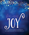 Premium Advent Bulletin: Joy (Pack of 50)