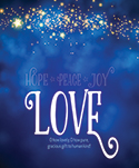 Premium Advent Bulletin: Love (Pack of 50)