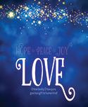 Premium Advent Bulletin: Love (Pack of 50)