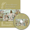Jesus Blesses the Children DVD with Companion Book