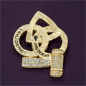 Pin - District Past President Pin Gold Tone