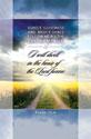 Standard Funeral Bulletin:  Psalm 23:6