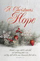 Standard Christmas Bulletin: A Christmas Hope - Matt 1:23