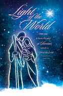 Standard Christmas Bulletin: Light of the World Luke 2:11