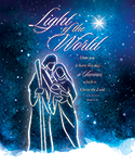 Premium Christmas Bulletin: Light of the World Luke 2:11