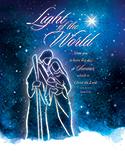 Premium Christmas Bulletin: Light of the World Luke 2:11