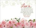 Standard Wedding Wrap Bulletin: Love Is...
