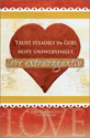 Standard Wedding Bulletin: Love Extravagantly