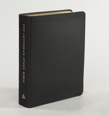 The lutheran study bible black genuine leather fandeluxe Gallery