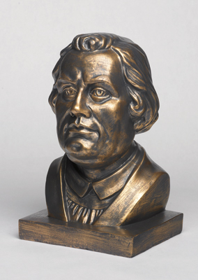 Martin Luther Bust Bronze