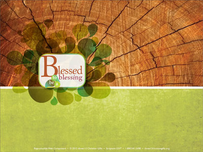 Blessed to be a blessing powerpoint template downloadable toneelgroepblik Images