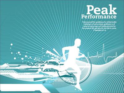 Peak performance powerpoint template downloadable toneelgroepblik Gallery