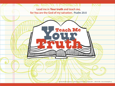 teach me your truth powerpoint template downloadable